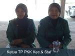 Ibu Ketua TP PKK Kecamatan dan Staf